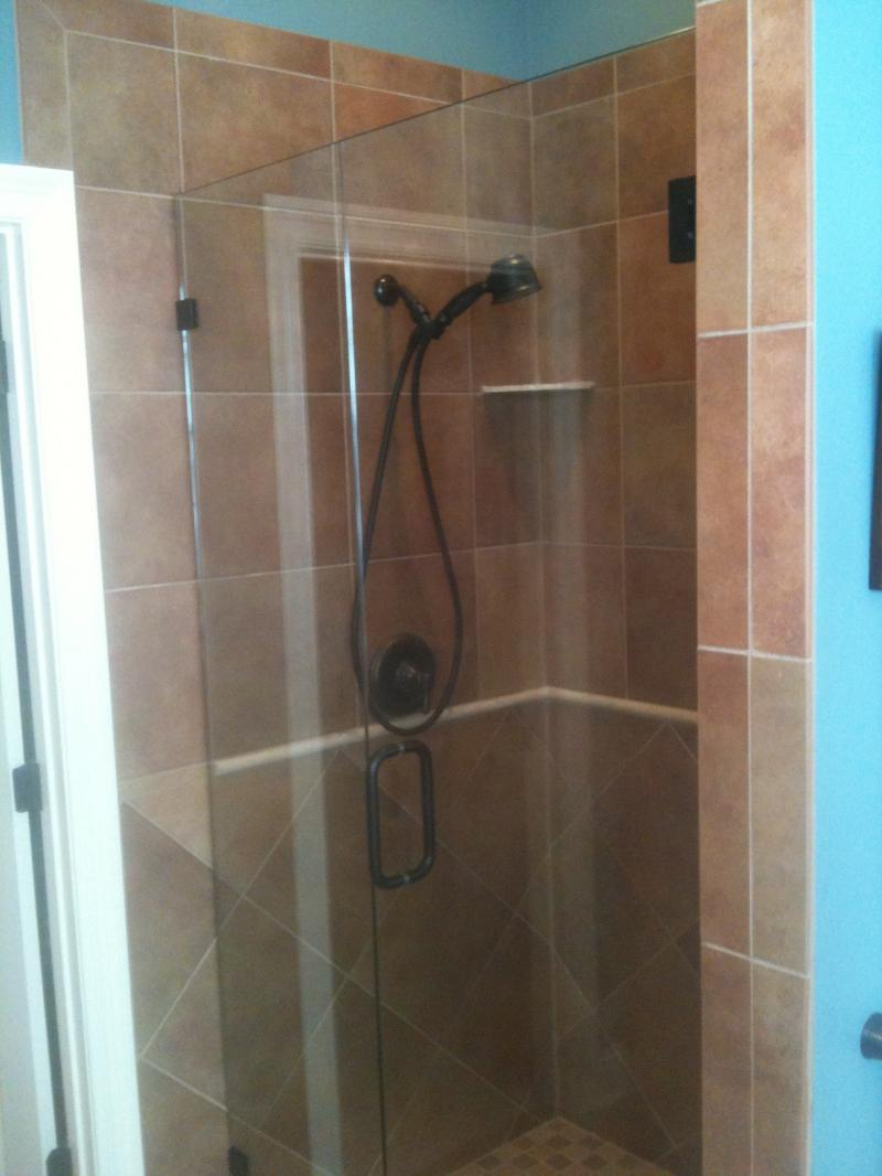 Seamless Glass Showers