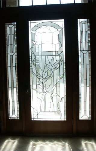 Decorative Glass Door Inserts : Concepts in glass custom door inserts decorative